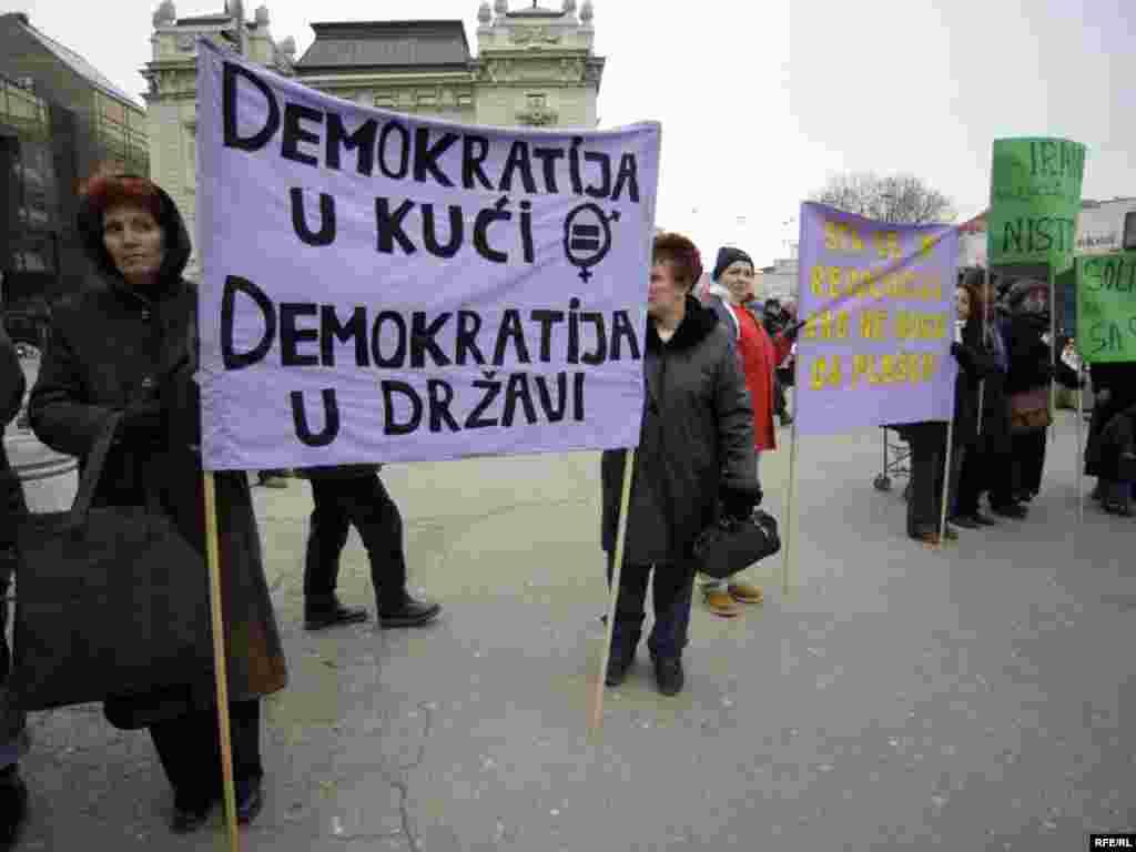 Međunarodni dan žena u Beogradu - Foto: Vesna Anđić