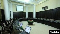 Հայաստան -- Կառավարության նիստերի դատարկ դահլիճը, արխիվ