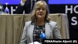 Ministrica finansija i komandanticaFederalnogštaba civilne zaštiteJelka Milićević