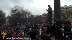 Львівські студенти страйкують за ЄС