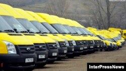 Уже четвертый день водители тбилисских микроавтобусов продолжают тотальную забастовку