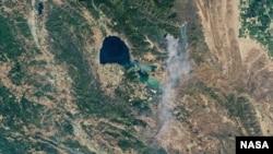 Фото лісових пожеж в Каліфорнії датоване 24 червня