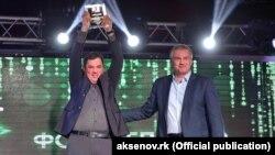 Олександр Полегенько (ліворуч) і Сергій Аксьонов (праворуч)