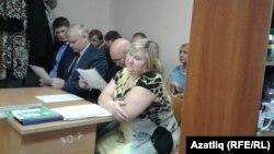 Olqa Ziyatdinova məhkəmədə