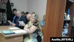 Қазан қаласы Вахитов аудандық сотында отырған Ольга Зиятдинова.