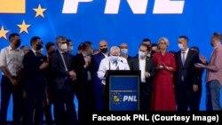 Noua conducere a PNL a fost prezentată duminică seară de Florin Roman, proaspăt ales vicepreședinte pentru Administrație