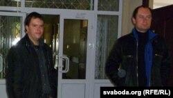 Уладзь Сяргеей і Алег Корбан