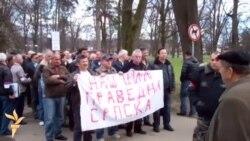 Protesti boraca u Banjaluci