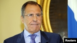 Russian Foreign Minister Serge Lavrov (file photo)