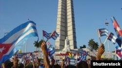 Манифестация в кубинской Гаване. Иллюстративное фото.