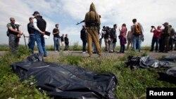 Ուկրաինա - ԵԱՀԿ-ի դիտորդները և լրագրողները «Բոինգ 777»-ի կործանման վայրում