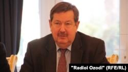 Russia's ambassador to Tajikistan, Igor Lyakin-Frolov