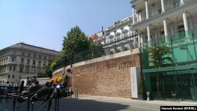 هتل پَله کوبورگ، محل برگزاری مذاکرات وین