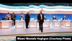 The second presidential debate which was aired live on Iran's state-run TV on May 5, 2017.