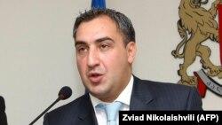 Бывший премьер-министр Грузии и член экономической команды Михаила Саакашвили Ника Гилаури.