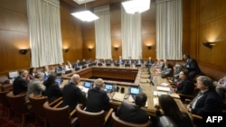Сириските мировни преговори во Женева