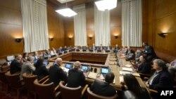 اولین نشست مذاکرات صلح سوریه در ژنو با هدایت استفان دمستورا نماینده ویژه سازمان ملل متحد