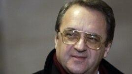 Russian Deputy Foreign Minister Mikhail Bogdanov