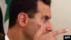 Башар әл-Асад, Сирия президенті. Тегеран қаласы. 19 тамыз 2009 жыл.