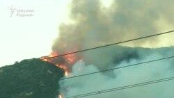 Тысячи жителей Южной Калифорнии покинули свои дома из-за лесных пожаров