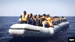 There are fears that Islamic State might exploit routes used by illegal migrants from Africa as a back door into Europe. (file photo)
