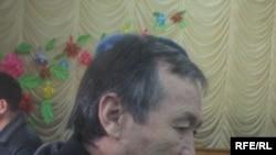 Сапар Аргынбаев Петровка окуясы боюнча сотто. 2-февраль, 2010-жыл.