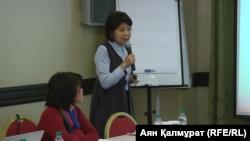 Aigul Shakibaeva (file photo)