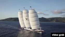 Яхта Maltese Falcon (Мальтыйскі сокал)