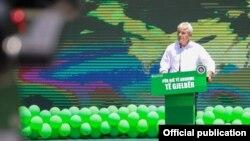 Претседателот на ДУИ Али Ахмети ја најавува зелената агенда на партијата