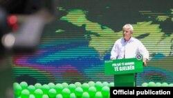 Скопје- претседателот на ДУИ Али Ахмети ја презентира зелената агенда на неговата партија, 05.06.2021