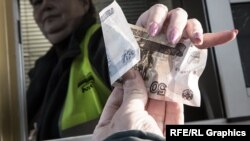 Ресей валютасы. (Көрнекі сурет)