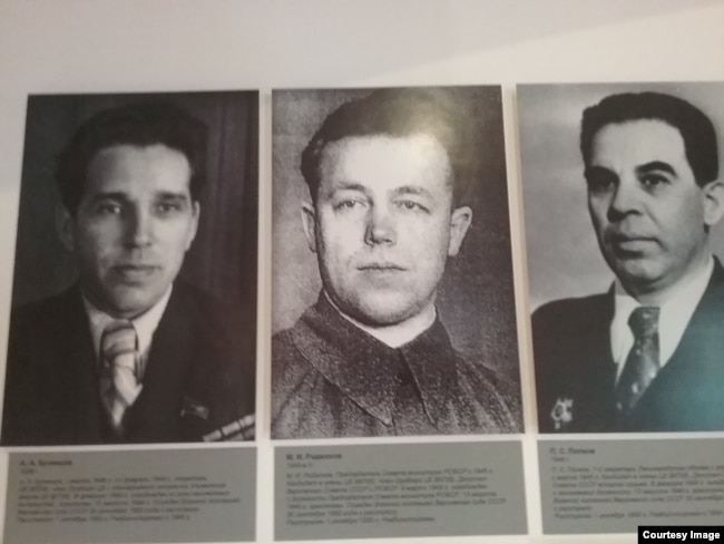 Алексей Кузнецов, Михаил Родионов и Петр Попков