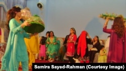 Singing and dancing are an integral part of Pashtun weddings.