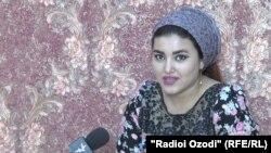Шаҳноза Каримова, сокини шаҳри Душанбе
