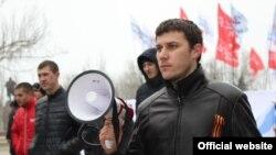 Активіст організації «Молодежное единство» Антон Давідченко (фото з сайту: odessit.ua)