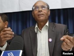 Congress for the Republic leader Moncef Marzouki