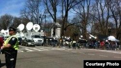 Бостон через два дні після вибухів на марафоні
