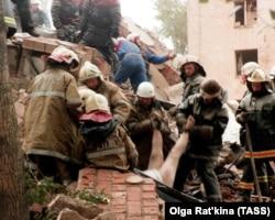 Підрив житлового будинку на Каширці у Москві. Росія, 1999 рік