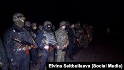 Правоохоронці намагалися відтіснити учасників блокади Криму від пошкоджених ЛЕП, які блокують активісти