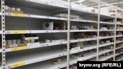 Ситуация в супермаркетах Симферополя