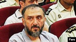 Cleric Mohammad Ali Abtahi, a member of the Assembly of Combatant Clerics, sitting in a Tehran courtroom in August