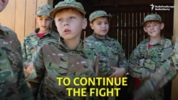 The Ukrainian Children Trained For War
