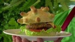 Якщо ти чогось боїшся, з'їж це! Коронабургери у вигляді коронавірусу – кулінарія часів пандемії (відео)