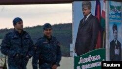 Полицейские в Грозном. Иллюстративное фото.