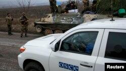 Спостерігачі ОБСЄ на Донбасі, 26 лютого, 2015