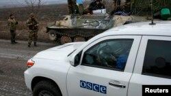 Спостерігачі СММ ОБСЄ на Донбасі