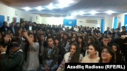 İsa Qəmbərin gənclərlə görüşü (17 Mart 2013)