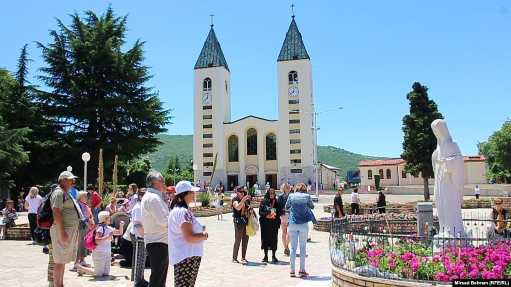 About a million people, many of them