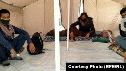 شماری از افغان های برگشته از پاکستان