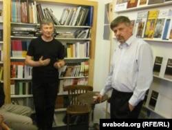 Сяргей Шупа і Ян Максімюк, «логвінаЎ», 6 верасьня 2011